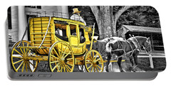 Yellow Carriage Portable Battery Charger