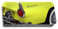 Yellow Classic Thunderbird Car Portable Battery Charger