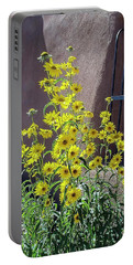 Yellow Composites At Ghost Ranch  Portable Battery Charger