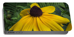 Yellow Coneflower Portable Battery Charger
