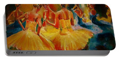 Yellow Costumes Portable Battery Charger
