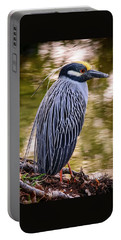 Portable Battery Charger featuring the photograph Yellow-crowned Night-heron by Steven Sparks