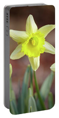 Yellow Daffodil Portable Battery Charger