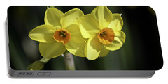 Yellow Daffodils 2 Portable Battery Charger