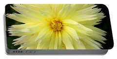 Yellow Dahlia Portable Battery Charger