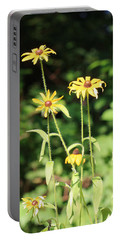 Yellow Daisies In The Sun Portable Battery Charger