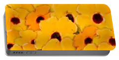 Yellow Daisy Flowers Portable Battery Charger
