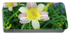 Yellow Daylily Portable Battery Charger