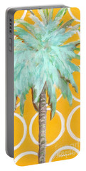 Yellow Delilah Palm Portable Battery Charger