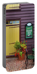 Yellow Door In Annapolis Portable Battery Charger