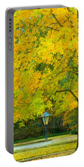 Yellow Drapes Portable Battery Charger