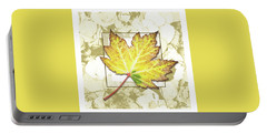 Yellow Fall Portable Battery Charger
