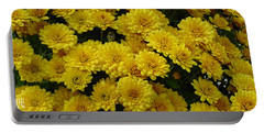 Yellow Fall Portable Battery Charger by Shirley Heyn