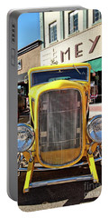 Yellow Fever Portable Battery Charger by Jimmy Ostgard