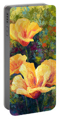 Yellow Field Poppies Portable Battery Charger