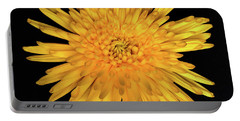Yellow Flower Macro Portable Battery Charger