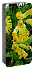 Yellow Flowers 2 Portable Battery Charger