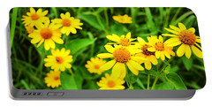 Yellow Flowers No. 2 Portable Battery Charger