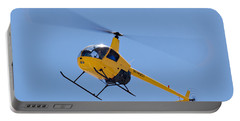 Yellow Helicopter Portable Battery Charger