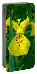 Yellow Iris Portable Battery Charger
