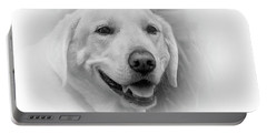 Yellow Labrador Portable Battery Charger