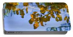 Yellow Leaf Reflections Portable Battery Charger