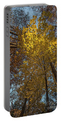 Yellow-leaves-maple-forest Portable Battery Charger