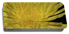 Yellow Mum Portable Battery Charger