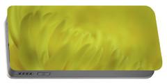 Yellow Mum Petals Portable Battery Charger