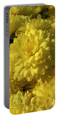 Yellow Mums Portable Battery Charger