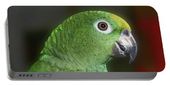 Yellow Naped Amazon Parrot Portable Battery Charger by Smilin Eyes  Treasures