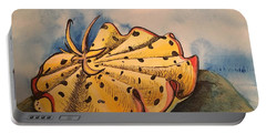 Yellow Nudibranch Portable Battery Charger