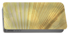 Yellow Palm Frond Rh Portable Battery Charger