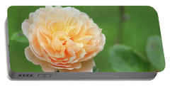 Yellow Rose In December Portable Battery Charger