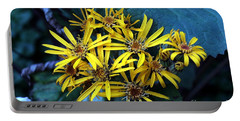 Yellow Stars Portable Battery Charger