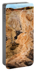 Portable Battery Charger featuring the photograph Yellow Stone National Park Abstract by Mae Wertz