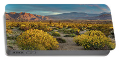 Portable Battery Charger featuring the photograph Yellow Sunrise by Peter Tellone