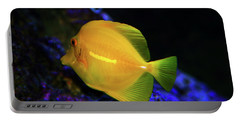Portable Battery Charger featuring the photograph Yellow Tang by Anthony Jones
