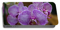 Yellow Tongue Lacy Orchid Portable Battery Charger