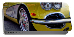 Yellow Vette Portable Battery Charger