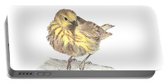 Yellow Warbler Portable Battery Charger