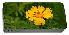 Yellow Zinnia Portable Battery Charger