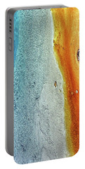 Yellowstone Abstract Portable Battery Charger