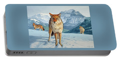 Yellowstone Coyotes Portable Battery Charger