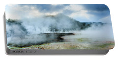Yellowstone Geysers Portable Battery Charger