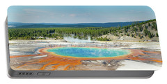 Yellowstone Grand Prismatic Spring  Portable Battery Charger
