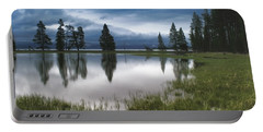 Yellowstone Lake Reflection Portable Battery Charger