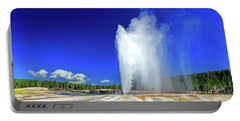 Yellowstone National Park Beehive Geyser Portable Battery Charger