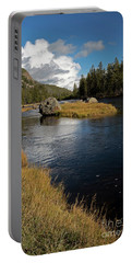 Yellowstone Nat'l Park Madison River Portable Battery Charger