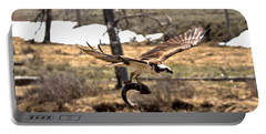 Yellowstone Osprey Feast Portable Battery Charger